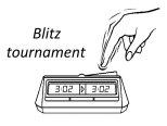 V úterý 24.8.2021 proběhne turnaj v blesku.